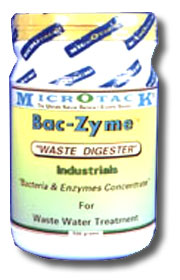 Baczyme reduces BOD, COD, SS in Municipal and industrial wastewater treatment